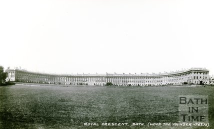 The Royal Crescent, Bath, c.1950s