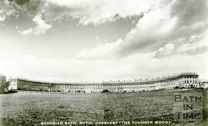 The Royal Crescent, Bath, c.1950s