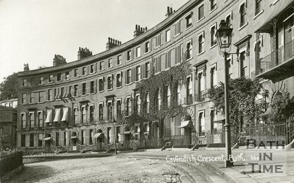 Cavendish Crescent, Bath, c.1912
