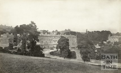 Cavendish Crescent, Bath 1876