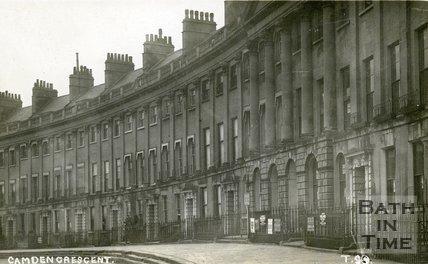 Camden Crescent, Bath, c. 1912