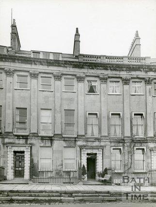 Camden Crescent, Bath, c.1920s