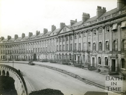 Camden Crescent, Bath, c.1920's