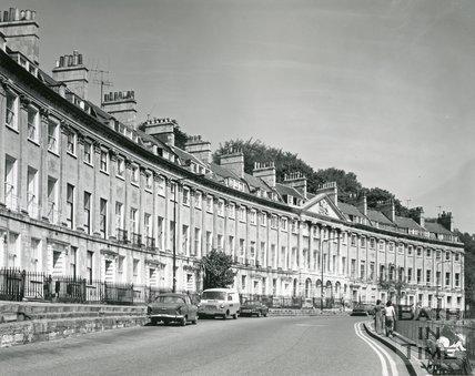 Camden Crescent, Bath, 1975 / 6