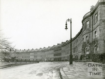Lansdown Crescent, Bath, c.1920s