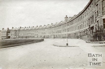 Lansdown Crescent, Bath, c.1885