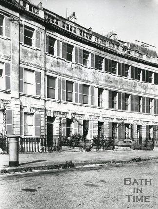 7, 8, 9 Lansdown Crescent, Bath c.1950s?