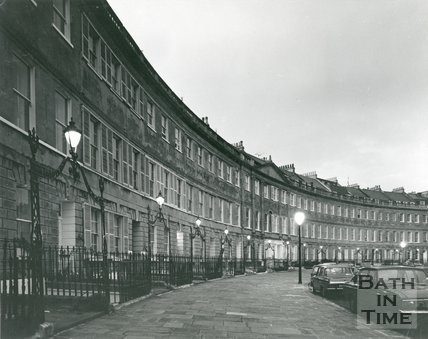 Lansdown Crescent, Bath, 1975 / 6
