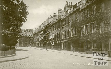St. James' Square, Bath, c.1912