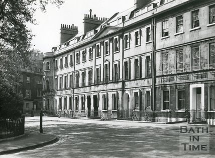 St. James's Square, Bath, c.1920s