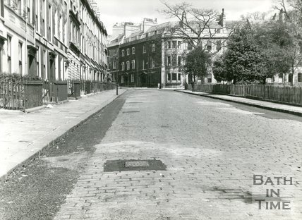 St. James's Square, Bath, c.1950s?