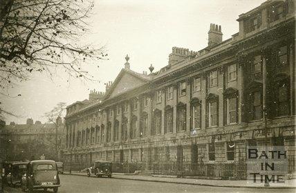 Queen Street, Bath, north side, 20th November 1945