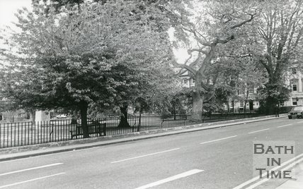 Queen Square, Bath, 1987
