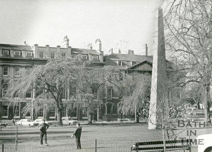 Queen Square, Bath c. 1970