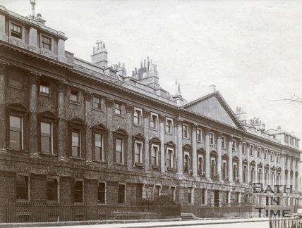 North side, Queen Square, Bath c.1903