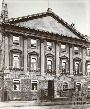 House of John Wood the Elder, 24, Queen Square, Bath c.1903