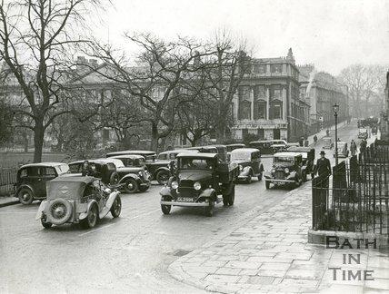 Queen Square, Bath, c.1936/7