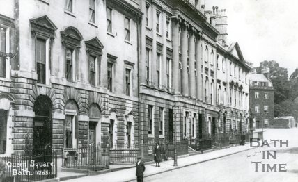 Queen Square, Bath, c.1920s