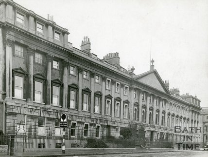 Queen Square, Bath, north side, c.1930s