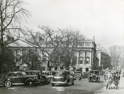 Queen Square, Bath, north side, c.1930s