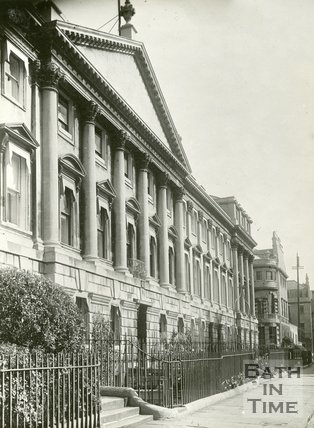 Queen Square, Bath, north side, c.1930s?