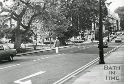 Queen Square, Bath, August 1977 east side