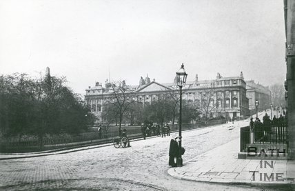 Queen Square, Bath, c.1905