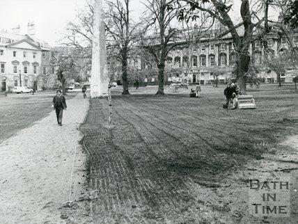 Queen Square, Bath, 1977