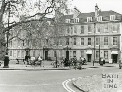 Kingsmead Square, Bath, May 1991