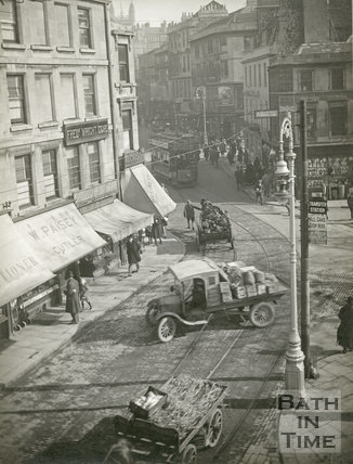 Kingsmead Square, Bath, 28 February 1925