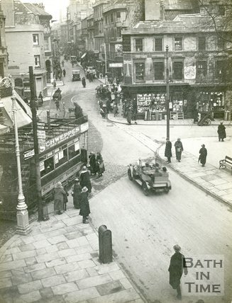 Kingsmead Square, Bath, c.1925