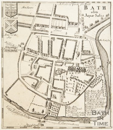 Bath Olim Aquae Solis 1736