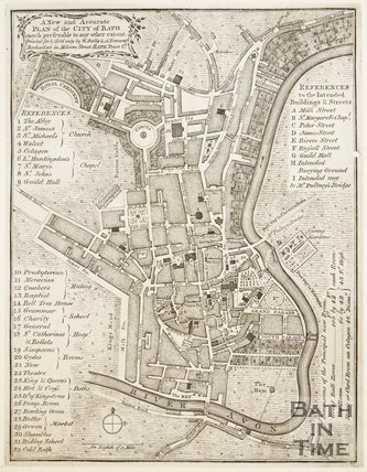 A New and Accurate Plan of the City of Bath 1771?