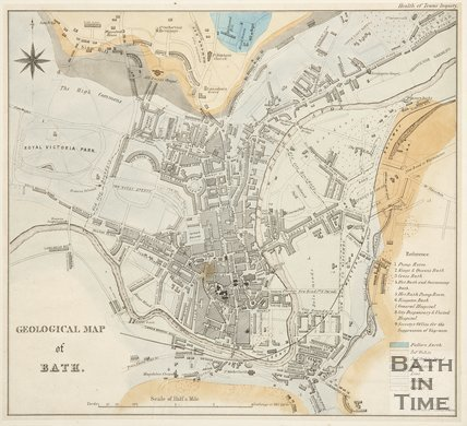 Geological Map of Bath c.1845?