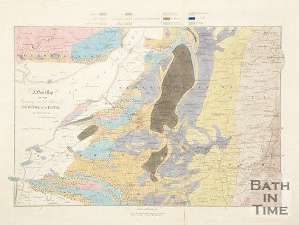 A new geological map of the country round the cities of Bristol and Bath 1835
