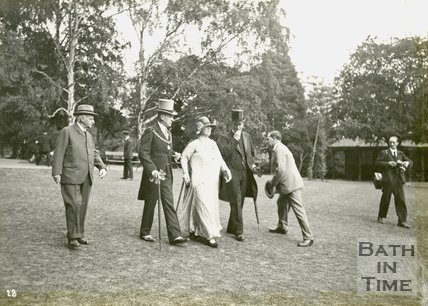 The Marquess of Bath arrives at the mayoral garden party, Royal Victoria Park, June 20 1929