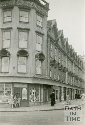 Terrace Walk, Orange Grove, Bath, 24th, November 1945