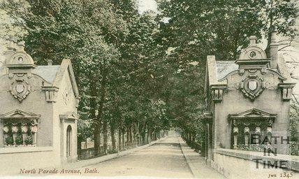 North Parade Avenue, Bath c.1905