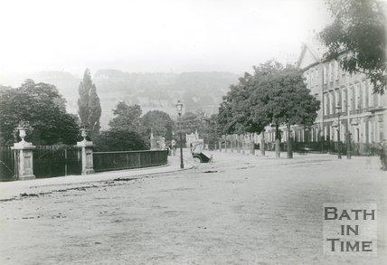 North Parade, Bath, c.1890