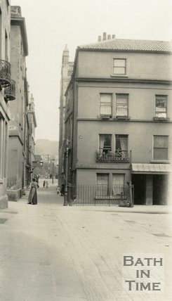 North Parade Passage, Bath from Abbey Green, c. 1915