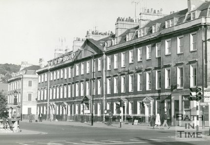 North Parade, Grosvenor Hotel, Bath, c.1950s