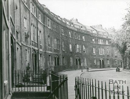 Widcombe Crescent, general view, c.1930s