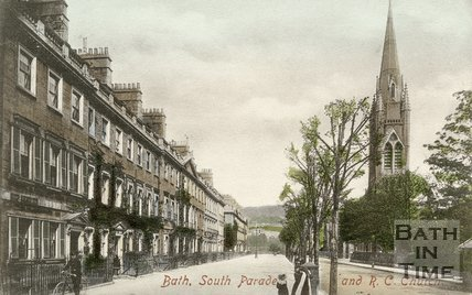 South Parade & St. John's Church, c.1910
