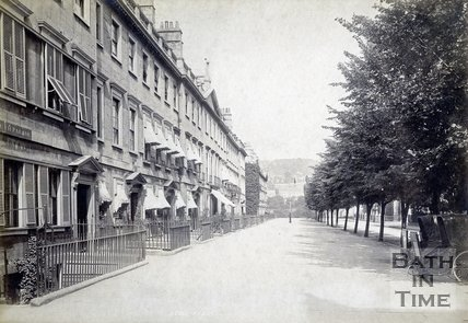 South Parade, Bath, 1895