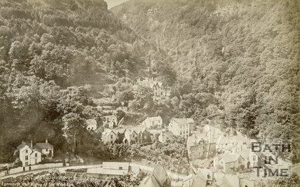 Lynmouth and Valley of the West Lyn, c.1930s