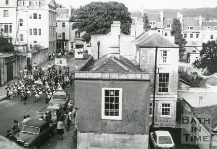 Queen's Parade Place, Bath, c.1979