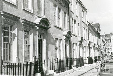 Beauford Square, Bath, mid 1982