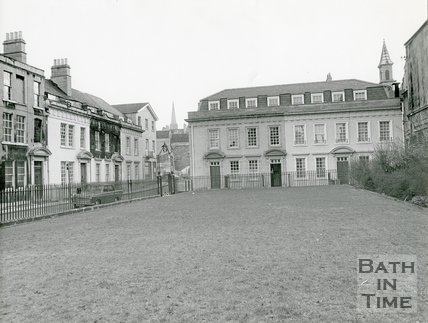 Beauford Square, Bath, c.1970s