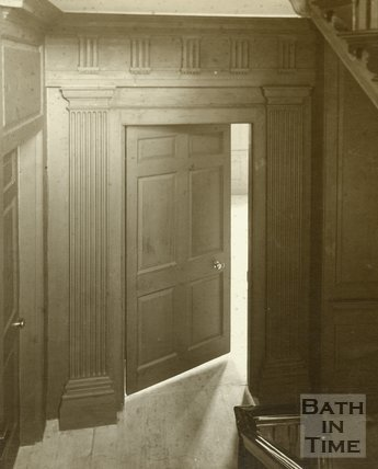 Doorway, Rosewell House, Kingsmead Square, Bath, c,1910