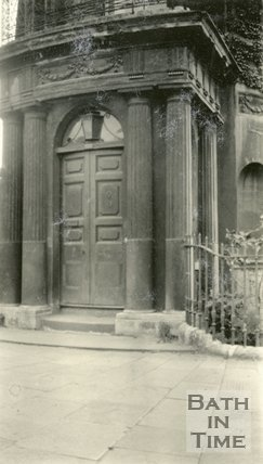 Architectural details of doorway No.103 Sydney Place, Bath, c.1915